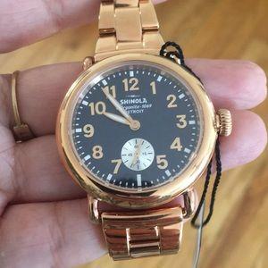 *new* Shinola Watch - The Runwell 36mm.